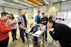 [Foto: Henrik Wiemer]    HAMM: Hammer Energiewettbewerb, im Technikum der Hochschule Hamm-Lippstadt  Wirtschaftsförderung